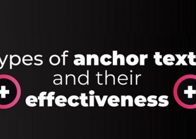 How to Improve Your SEO Strategy Using Anchor Text Optimization [Infographic]
