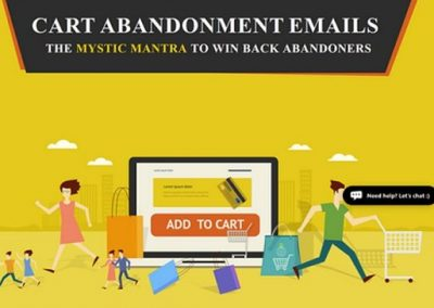 How to Increase eCommerce Sales with an Abandoned Cart Email Campaign [Infographic]