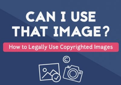 How to Legally Use Copyrighted Images [Infographic]