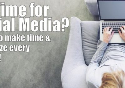 How to Make Time for Social Media [Podcast]