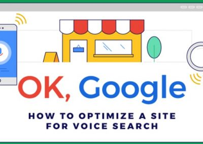 How to Optimize a Site for Voice Search [Infographic]