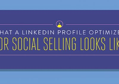 How to Perfect Your LinkedIn Profile and Generate Sales Leads [Infographic]