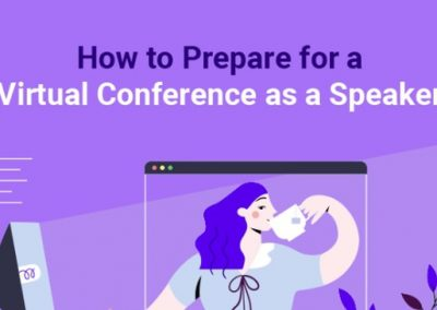 How to Prepare for a Virtual Conference as a Speaker [Infographic]
