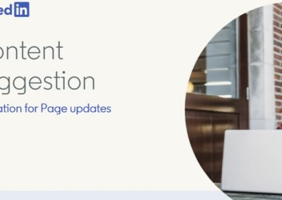 How to Use LinkedIn's 'Content Suggestions' for Page Updates [Infographic]