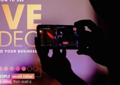 How to Use Live Video to Build Your Business [Infographic]