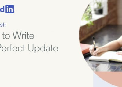How to Write the Perfect LinkedIn Update [Infographic]