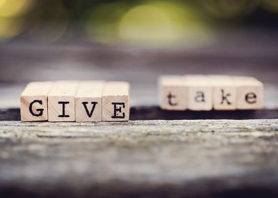 I Give and I Give, but You Take and You Take