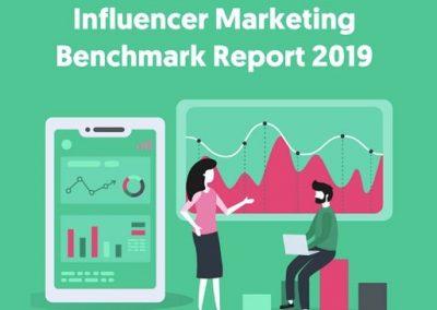 Influencer Marketing Benchmarks 2019 [Infographic]