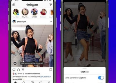 Instagram Adds Automatic Closed Captions for IGTV Videos