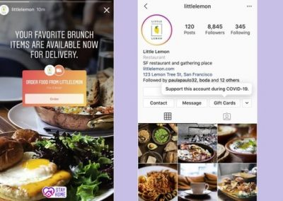 Instagram Adds Gift Card, Ordering and Fundraising Tools to Help Businesses Impacted by COVID-19