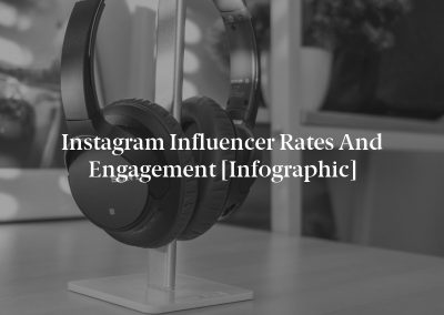 Instagram Influencer Rates and Engagement [Infographic]