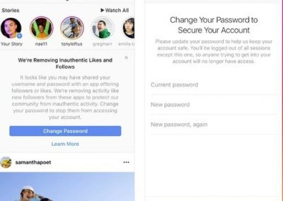 Instagram Launches New Crackdown on Fake Followers Gained via Third Party Apps