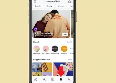Instagram Launches Test of New 'Shops' Tab with Selected Users