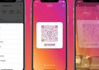 Instagram Replaces Nametag Codes with QR Codes to Help Quickly Connect Users