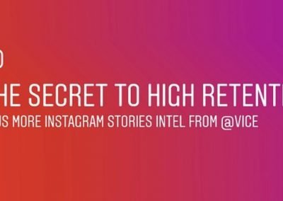 Instagram Shares Tips on How to Maximize Instagram Stories from Vice Media [Infographic]
