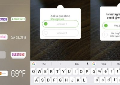 Instagram Stories Quiz Stickers Could be a Step Closer, Another Tool Worth Considering