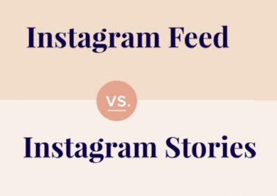 Instagram Stories vs. Instagram Feed: What to Post and Where [Infographic]