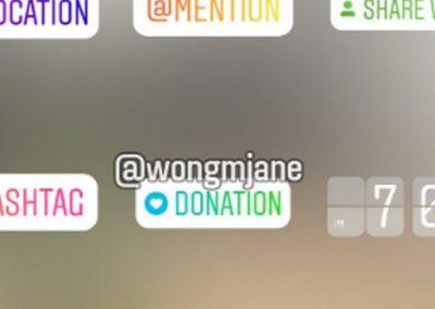 Instagram Tests 'Donation' Sticker in Stories