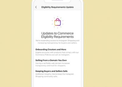 Instagram Updates Eligibility Requirements for Instagram Shopping Ahead of Broader eCommerce Push
