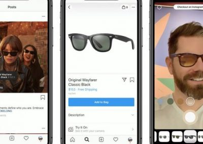 Instagram's Now Testing New AR 'Try On' Ads with Selected Advertisers