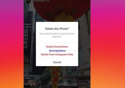 Instagram's Testing a New Option to Make it Easier to Remove Stories Content Across Platforms