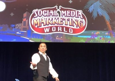 It Was All About The Customer at Social Media Marketing World 2018
