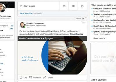 LinkedIn Adds Document Upload Options to Regular Posts, Providing New Sharing Options