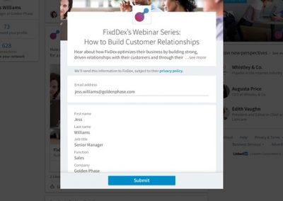 LinkedIn Adds New Options for Lead Gen Forms, Expanding Potential