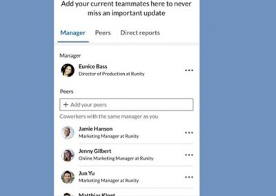 LinkedIn Adds New 'Teammates' Option to Maintain Connection with Colleagues