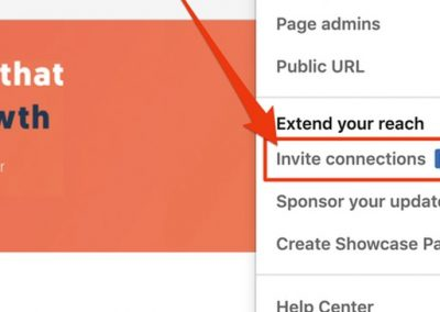 LinkedIn Brings Back Option to Invite Connections to Follow a Company Page