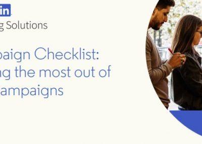 LinkedIn Campaign Checklist [Infographic]