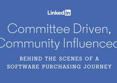 LinkedIn Provides New Stats on the Evolving Software Purchase Process for Business [Infographic]