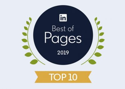 LinkedIn Publishes Listing of Top 10 Company Pages for 2019 [Infographic]