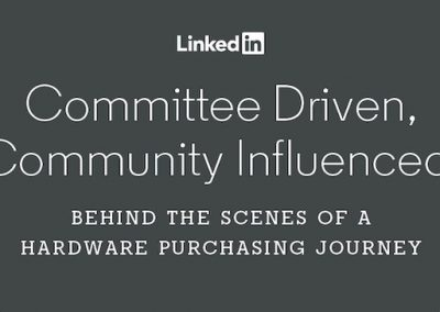 LinkedIn Publishes New Insights into the Evolving Hardware Purchasing Journey [Infographic]