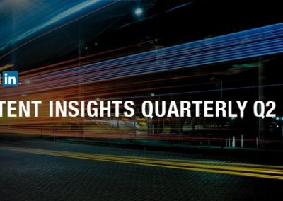 LinkedIn Reports on Key Topics of Discussion on the Platform in Q2