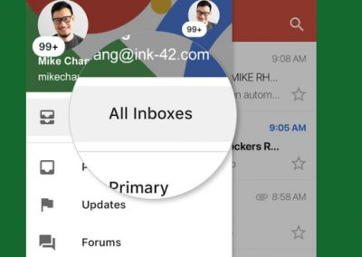 Now You Can View all Your Gmail Inboxes on a Single Screen in iOS