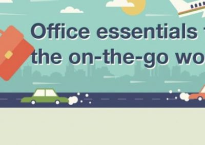 Office Essentials for the On-The-Go Worker [Infographic]
