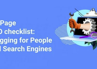 On Page SEO Checklist: Blogging for People and Search Engines [Infographic]