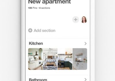 Pinterest Adds New Board 'Sections' to Help Better Organize Pin Presentation