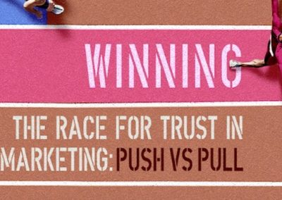 Push or Pull Marketing – Which Drives Better Brand Consideration? [Infographic]