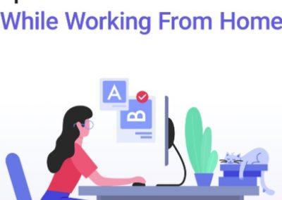 Remote Work: Tips and Tricks on How to Stay Productive [Infographic]