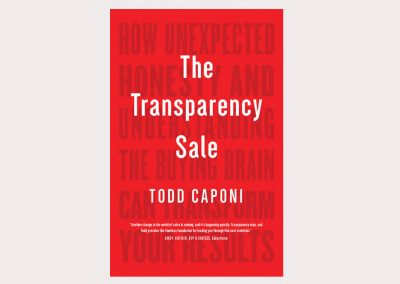 REQUIRED READING: Winning Business by Making The Transparency Sale