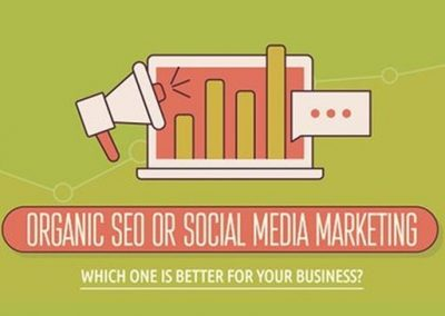SEO or Social Media Marketing? 11 Traffic-Boosting Tips for Success [Infographic]
