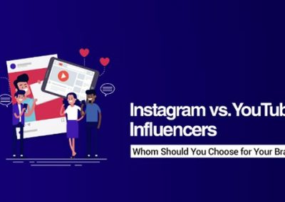 Should You Partner with Instagram or YouTube Influencers to Promote Your Brand? [Infographic]
