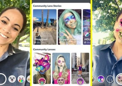 Snap Launches 'Lens Explorer' to Showcase Community Created AR Tools