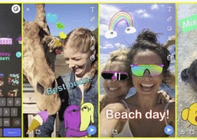 Snapchat Adds GIF Stickers, New Tabs to Address Concerns with Re-Design