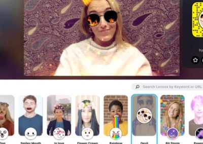 Snapchat Adds Lenses to Desktop Cameras to Boost Awareness of Lens Tools