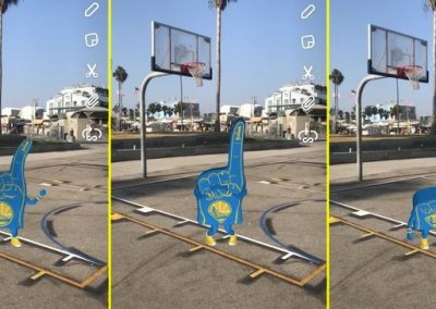 Snapchat Announces New Deal with NBCUniversal, Adds NBA Lenses