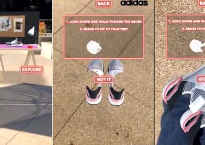 Snapchat Lets You Virtually Try on the Latest Adidas Sneakers in New AR Promotion