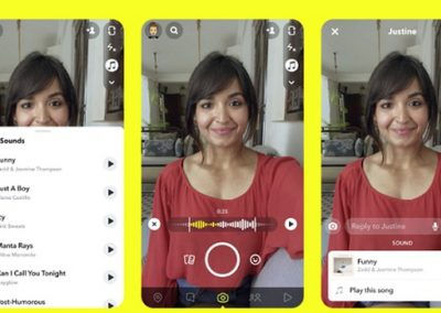 Snapchat's Working on a New Option to Add Popular Music Clips to Your Snaps